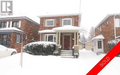 Toronto House for sale:  4 bedroom  (Listed 2019-03-02)